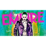 Posterhouzz Movie Suicide Squad Joker Jared Leto HD Wallpaper Background Fine Art Paper Print Poster