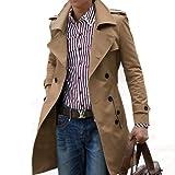 (ネルロッソ) NERLosso トレンチコート メンズ コート メンズコート メンズトレンチコート カジュアル ビジネス ロング XXL ベージュ cmd24178-XXL-be