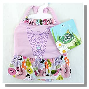Disney Fairies Apparel for Dogs Tinkerbell Tank Dress Small