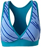 Zumba Fitness Women's Fast Dash V-Bra Top (Aspen, XX-Large)