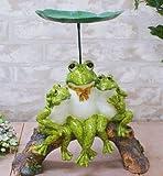 三匹の 蛙 - カエル かえる 置物