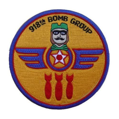 Amazon.com : 918th Bomb Group Patch Twelve O'Clock High Patch : Other