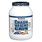 Buy Weider Nutrition Crash Weight Gain Strawberry Powder 1500g Review-image