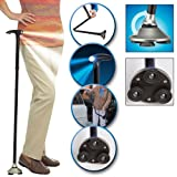 Trusty Cane As Seen On TV - The Standing Folding Lighted Walking Cane