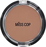 Miss Cop Compact Powder 15 g Beige Chocolate