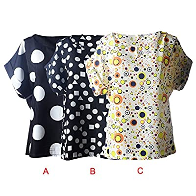Binmer(TM)Women Blouses Casual Flower Print Tropical Chiffon Shirts Blusas
