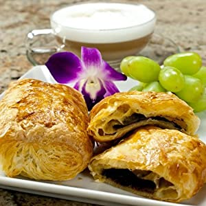 Chocolate Croissant (Pain au Chocolat) - 3.25 oz, Frozen, Unbaked - 1 dozen, 12 count