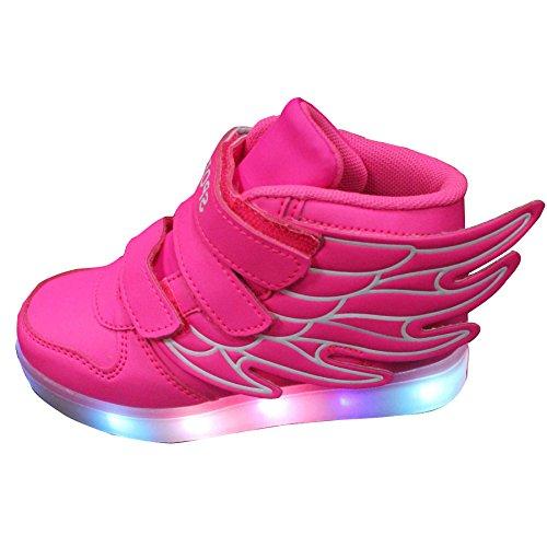 gaorui-basket-led-enfant-garcons-filles-chaussures-de-sport-lumineuses-lumiere-led-fermeture-velcro