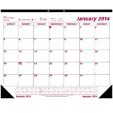 Brownline 16-Month Desk Pad, (Sept 2013 - Dec 2014), 22 x 17 Inches (C173116)