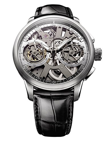 Maurice Lacroix Masterpiece Le Chronographe Squelette Mechanical Manual-Wind Mp7128-Ss001-000