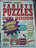 img - for LOT OF 10 PENNYPRESS PUZZLE BOOKS (VARIETY) (VARIETY PUZZLES AND GAMES) book / textbook / text book