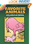 Favorite Animals Coloring Book