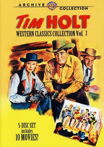 DVD : Tim Holt Western Classics 3 (5 Discos)