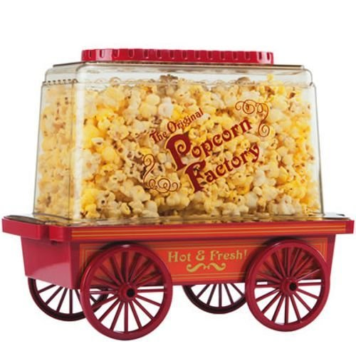 Royal Vintage Collectible Red Wagon Easy Popcorn Maker With Butter Dispenser (Fresh Candy Vintage Dispenser compare prices)