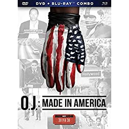 ESPN 30 for 30 O.J.:Made in America DVD and Bluray Combo