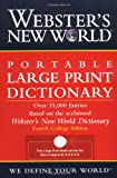 Websters New World Portable Large Print Dictionary, Second Edition