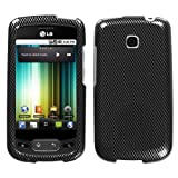 MyBat LG Phoenix / Optimus T Phone Protector Cover - Carbon Fiber