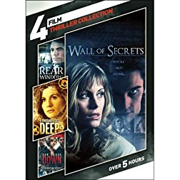 4-Film Thriller Collection: Wes Craven Presents: Don't Look Down / Rear Window / A Thousand Kisses Deep / Wall of Secrets