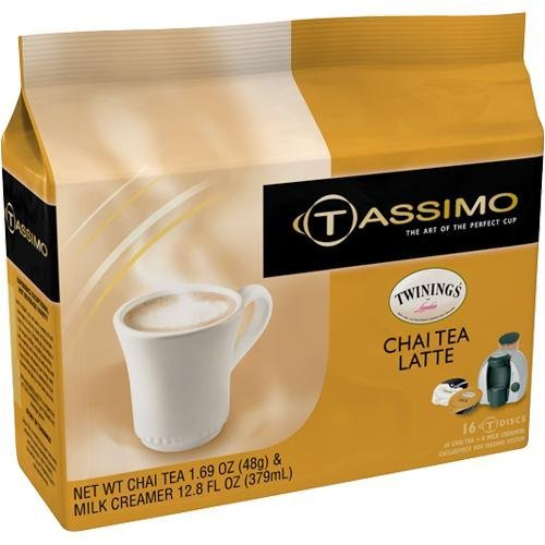 Twining's Chai Tea Latte T-Discs