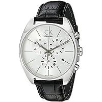 Calvin Klein K2F27120 Mens Exchange Chronograph Watch (Silver)