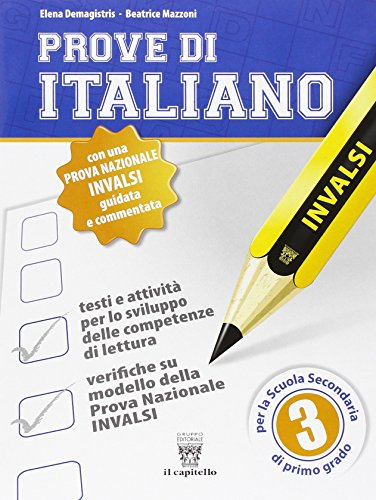Prove di italiano su modello INVALSI Per la Scuola media 3 PDF