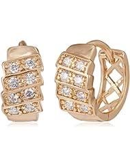 SIA Art Jewellery Clip-On Earrings For Women (Gold) (AZ3301)
