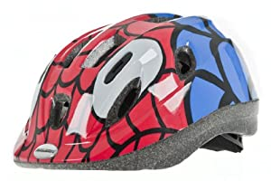 Raleigh Mystery Spiderman Boys Cycle Helmet