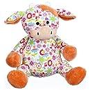 "Ganz 11"" Floral Cuties Cow Plush Toy"