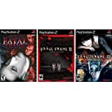 Fatal Frame Trilogy Complete Collection (1 I 2 II and 3 III) [PlayStation 2]