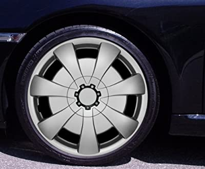 Radkappen AXEL silber 15 Zoll Volkswagen VW Golf 4, 5, 6, Plus, New Beetle, Passat 35i, 3B, 3BG von Autoteppich Stylers - Reifen Onlineshop