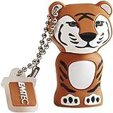 Emtec EKMMD8GM329 Animals Tiger 8GB Speicherstick USB 2.0