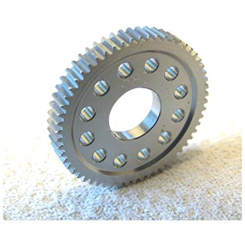 Hot Racing MFD458T Hard Anodized Aluminum Spur Gear (58t) - Losi 1/24 Micro