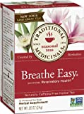 Traditional Medicinals Breathe Easy, 16-Count Boxes (Pack of 6)