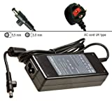 Laptop AC Adapter Power Supply Unit Charger for Samsung R730 R780 R710. With UK Power Cord.1 Year Warranty. In Stock