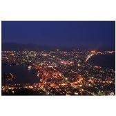 ポストカード「北海道函館市 函館山からみた夜景2」photo by katagiriポストカード-えはがき絵葉書