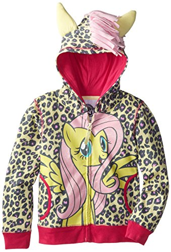My Little Pony Little Girls' Leopard Print Hoodie