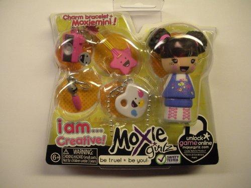 Moxie Girlz Charm Bracelet & Moxie Mini - I AM . . . CREATIVE - 1