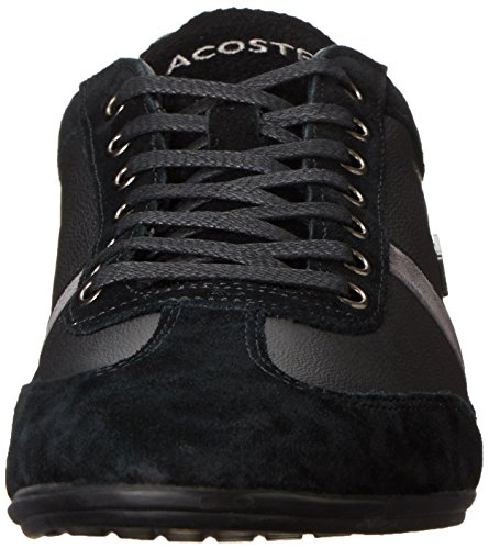 Lacoste Men's Misano 22 Fashion Sneaker, Black, 11 M US