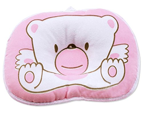 Purchase UZZO Cute Bear Stereotypes Pillow Newborn Baby Boy Girl Kids Anti-roll Pillow Sleeping Supp...