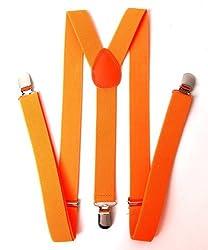 Gravity Heavy Duty Suspenders - Orange
