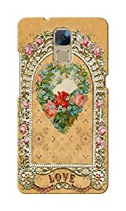 CimaCase Love Mirror Designer 3D Printed Case Cover For Huwaei Honor 7
