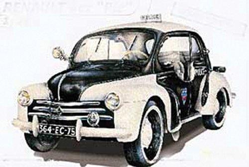 """Heller - 80764 - Construction Et Maquettes - Renault 4 Cv """"Pie"""" - Echelle 1/24ème"""