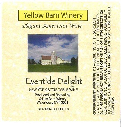 "Nv Yellow Barn Winery ""Eventide Delight"" Semi-Sweet White 750 Ml"