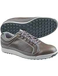FootJoy 2015 Men's Contour Casual Golf Shoes Grey/Green Close-out