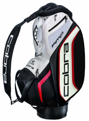Cobra Amp Tour Staff Golf Bag, Black