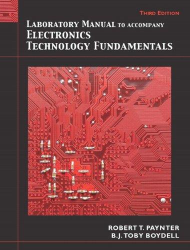 Laboratory Manual for Electronics Technology...