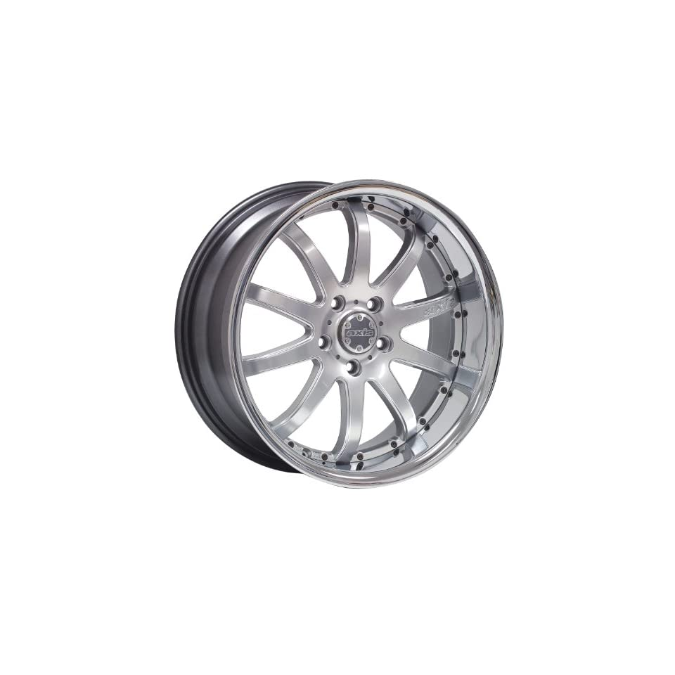 19x8 Axis Decade (Hyper Silver) Wheels/Rims 5x120 (DEC9805I35HSSH)