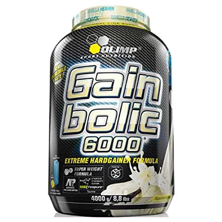 Olimp Gain Bolic 6000 Weight Gainer, 4000g 4kg - Vanille