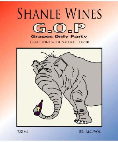 Nv Shanle Wines G.O.P. Grapes Only Party Blush 750 Ml