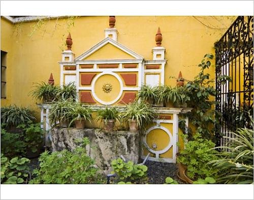 Photographic Print Of Typical Riad Style House Now Converted Into Hotel Las